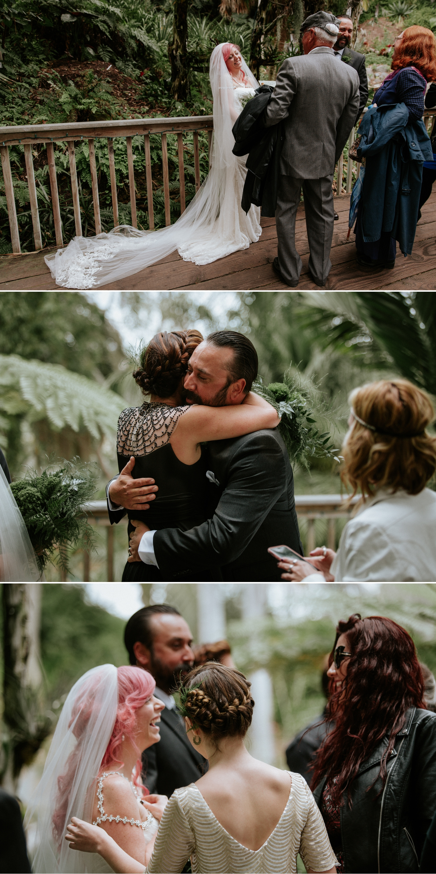 Intimate wedding at San Diego Botanic Garden by Paige Nelson