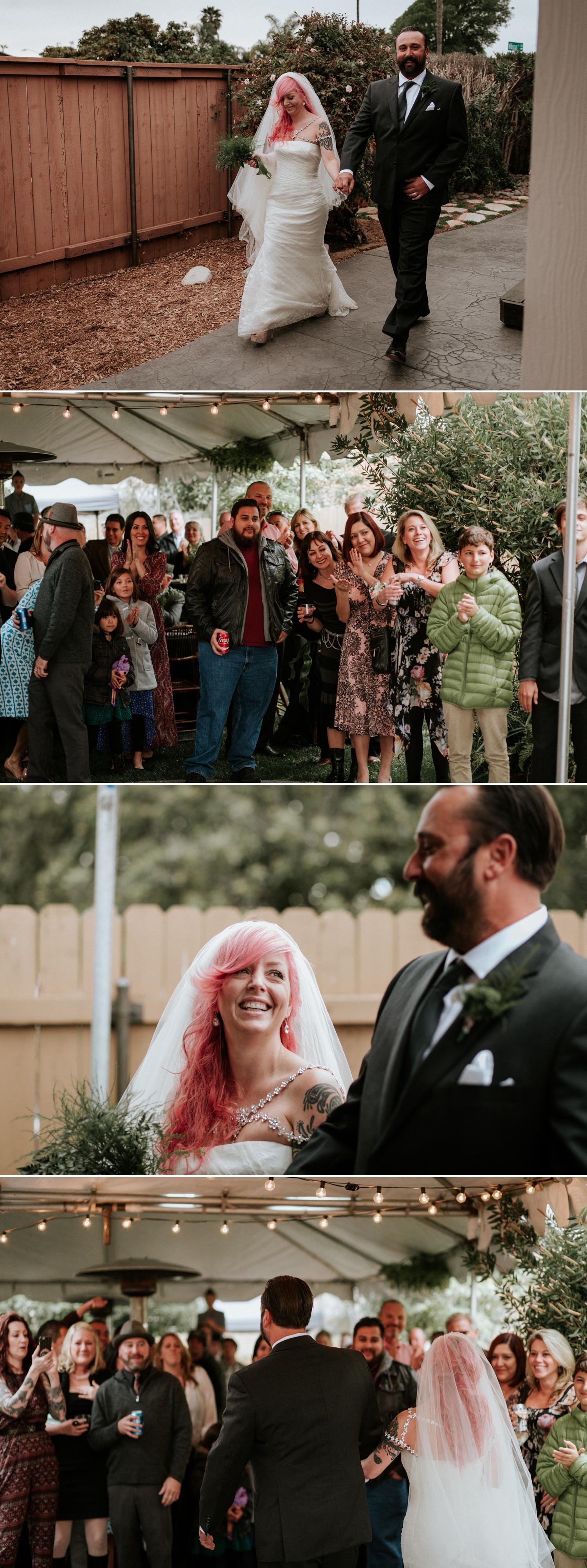 intimate san diego botanic garden wedding paige nelson