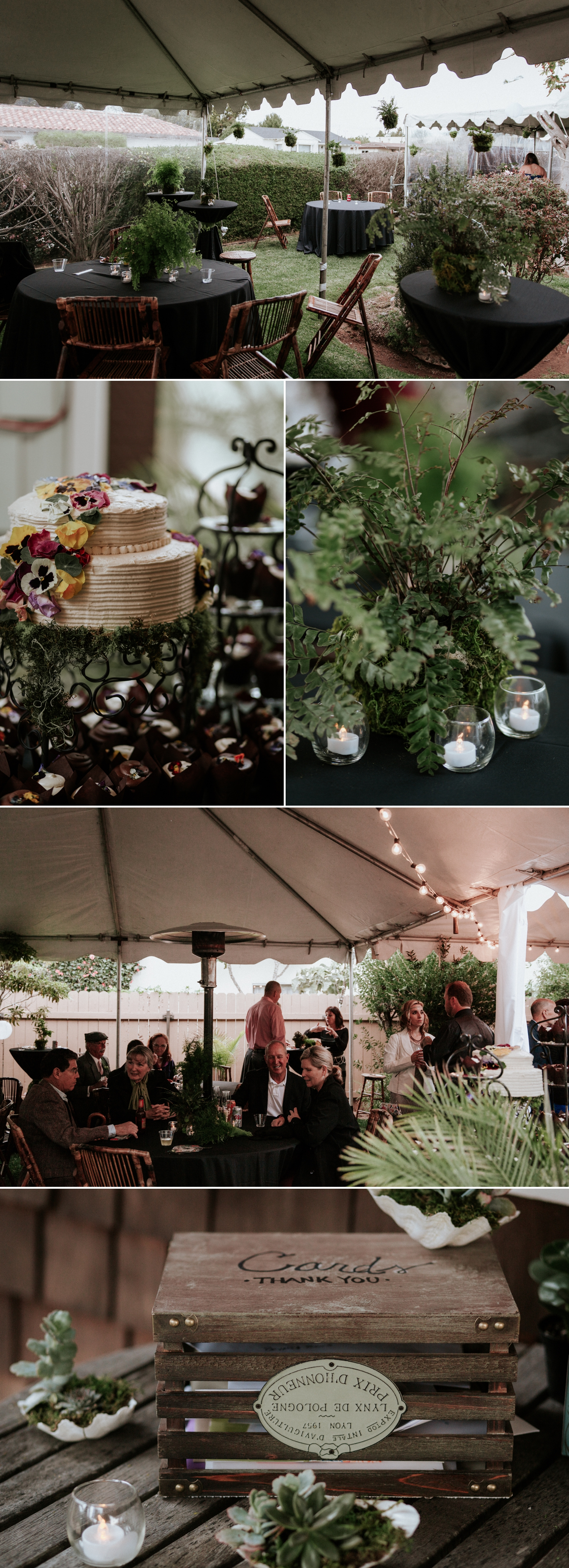 ... Backyard Wedding In San Diego By Paige Nelson ...