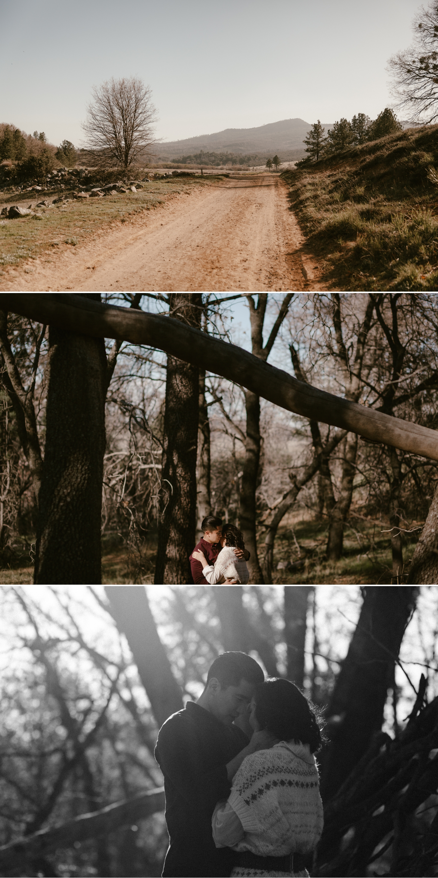 Lake Cuyamaca engagement in San Diego by Paige Nelson