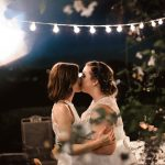 Intimate backyard wedding in Orange County by Paige Nelson