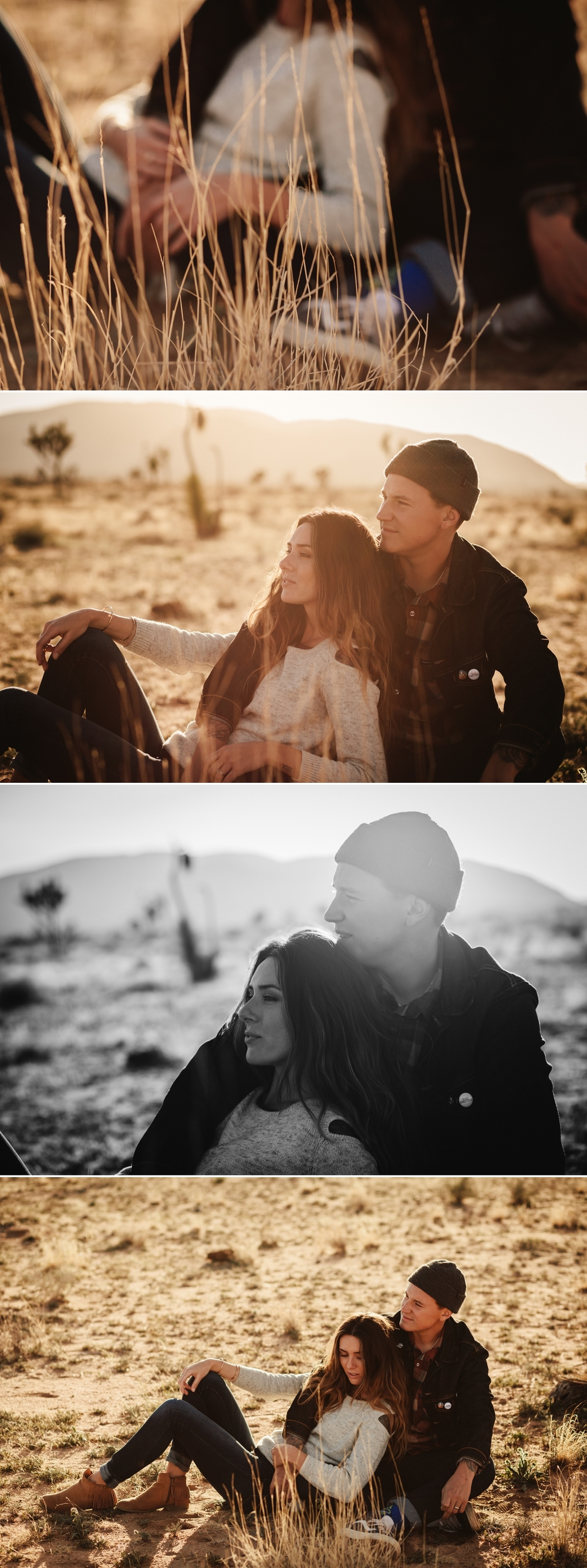 Joshua Tree engagement by San Diego photographer Paige Nelson