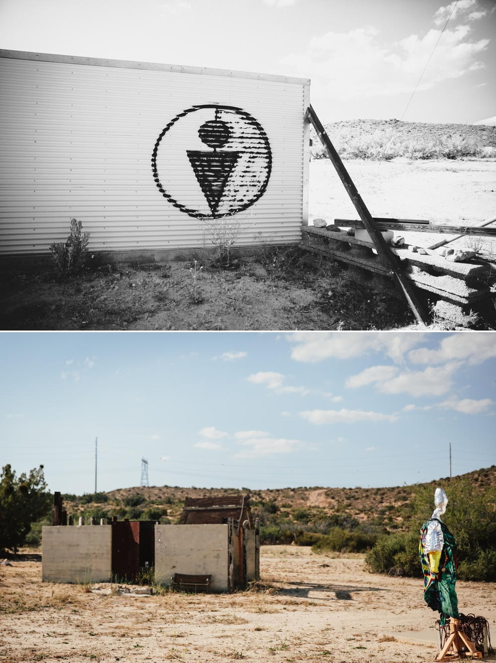 Abandoned rail yard in Jacumba, CA