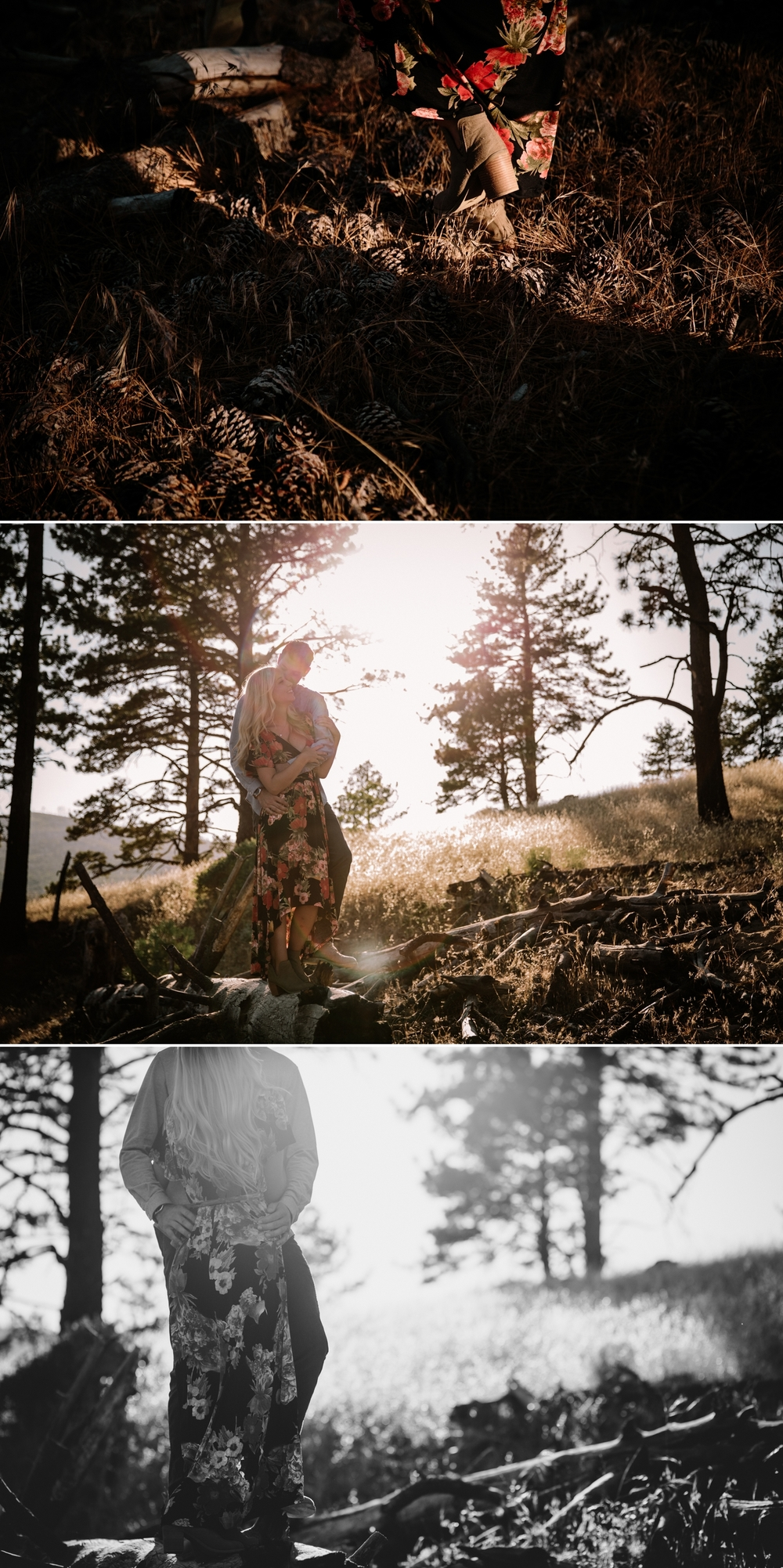 Mt Laguna engagement in San Diego by Paige Nelson