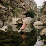 LA model Alix Schwartz at Malibu Creek by Paige Nelson