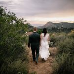 Intimate backyard wedding in San Diego by Paige Nelson