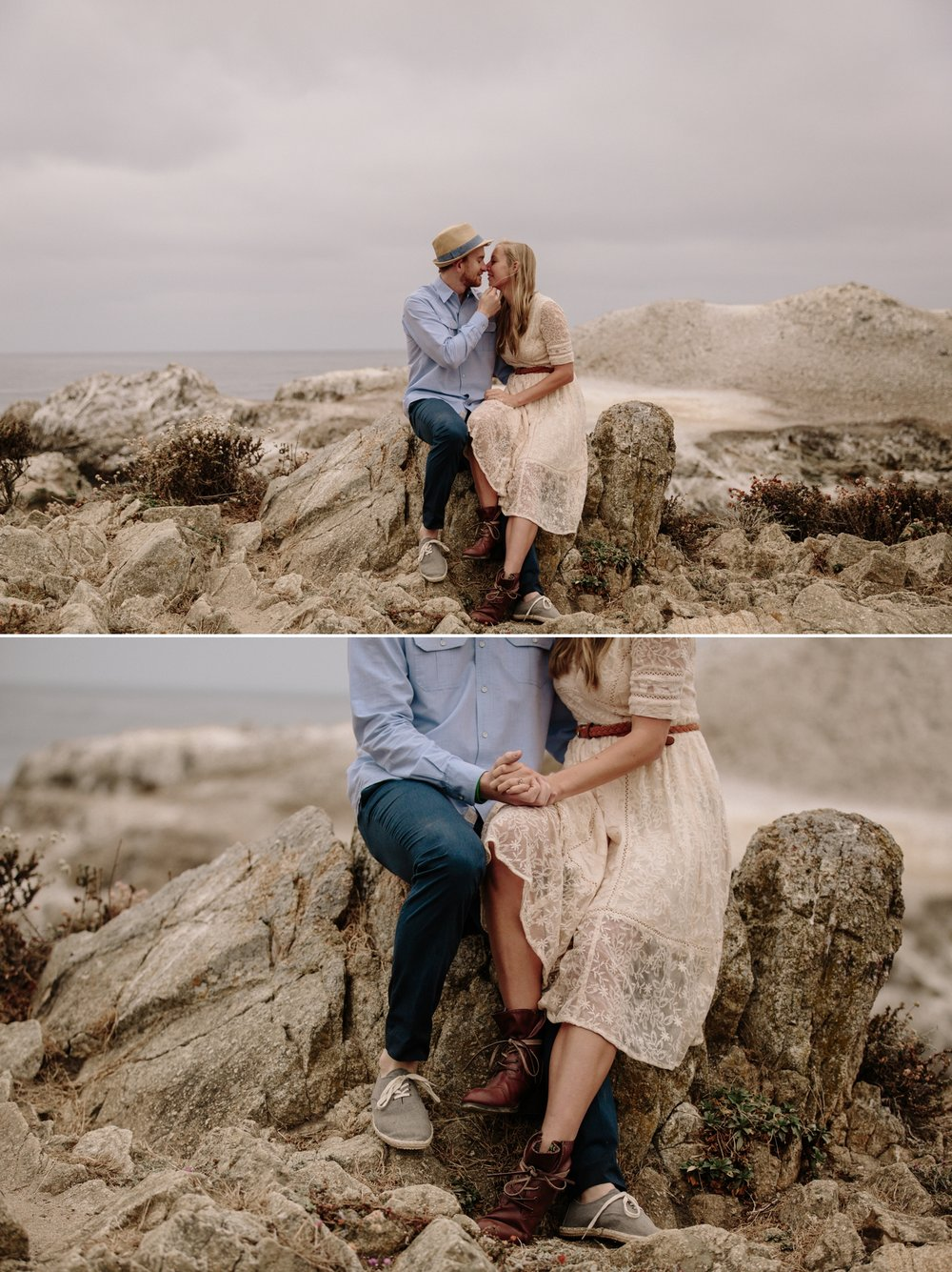 Point Lobos engagement in Carmel by San Diego Photographer Paige Nelson