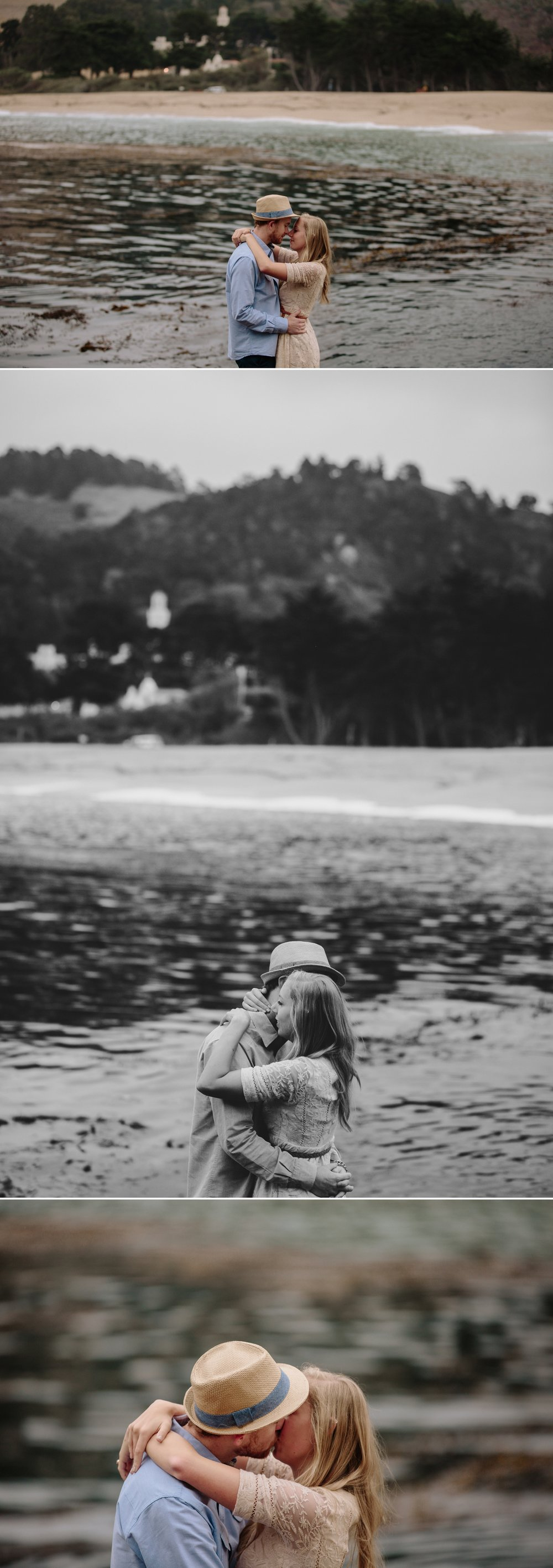Beach engagement in Carmel by San Diego Photographer Paige Nelson