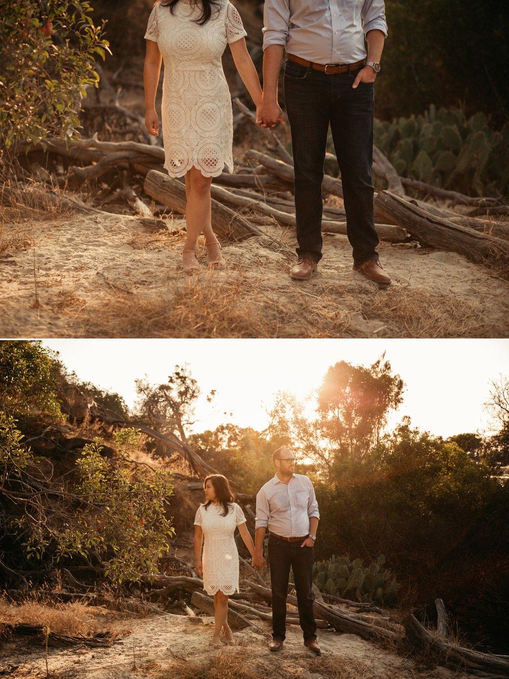 Solana Beach engagement San Diego Paige Nelson