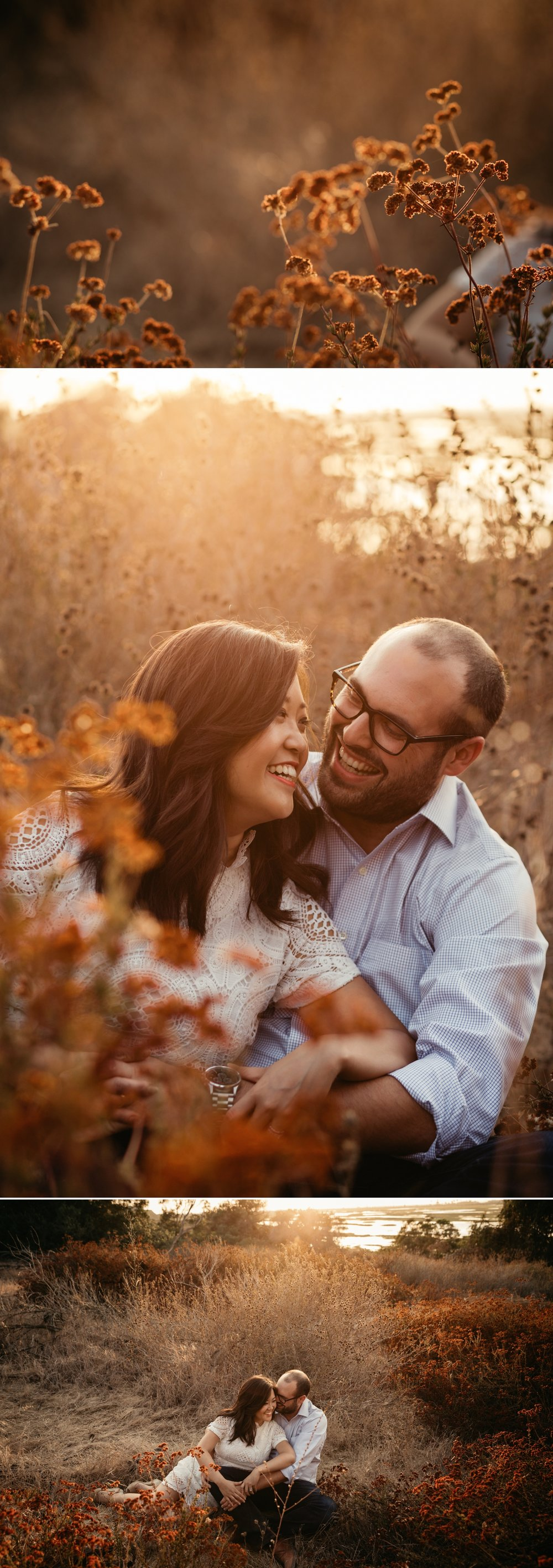 San Elijo lagoon engagement in Solana Beach by San Diego photographer Paige Nelson