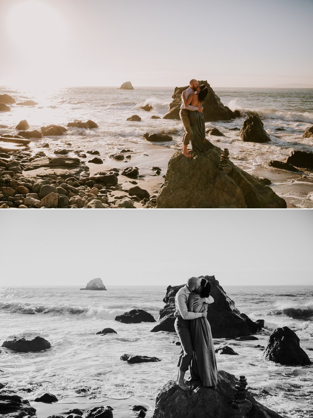 Engagement at Land's End in San Francisco by San Diego Photographer Paige Nelson