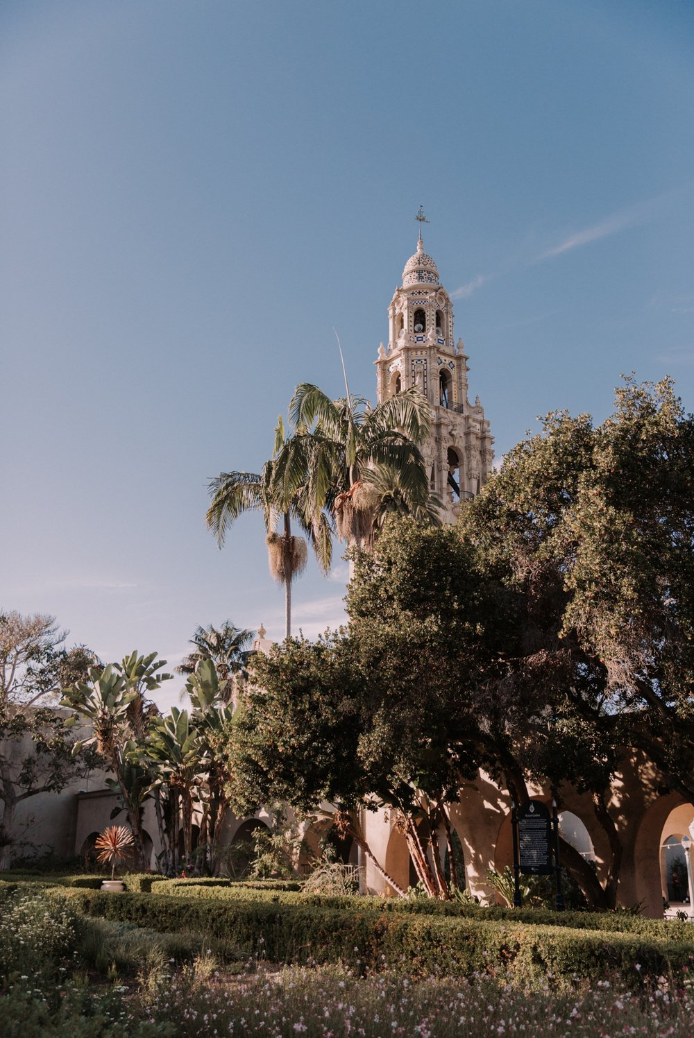 Balboa park wedding in San Diego by Paige Nelson