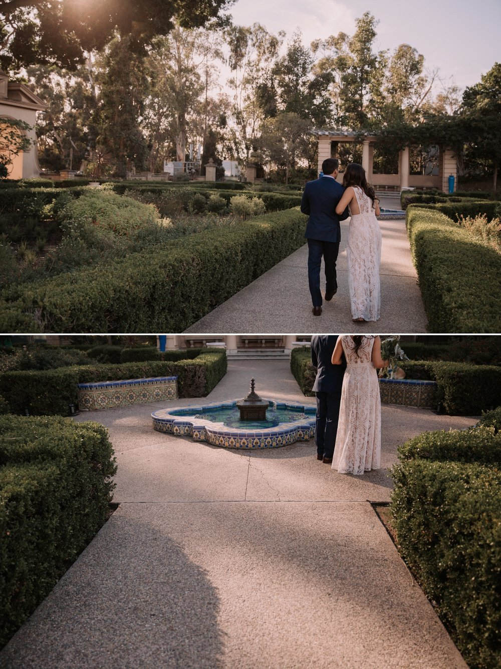 Wedding in Balboa park by San Diego photographer Paige Nelson
