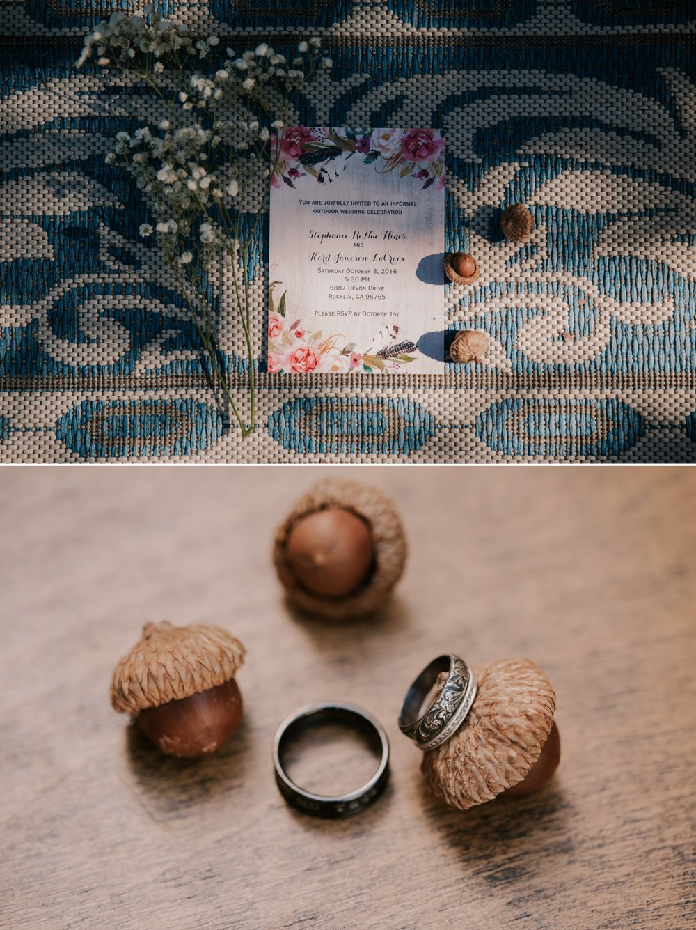 Intimate Backyard wedding in Roseville by San Diego photographer Paige Nelson