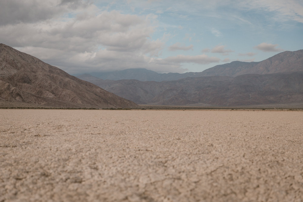 Clark Dry Lake in Anza Borrego by San Diego photographer Paige Nelson