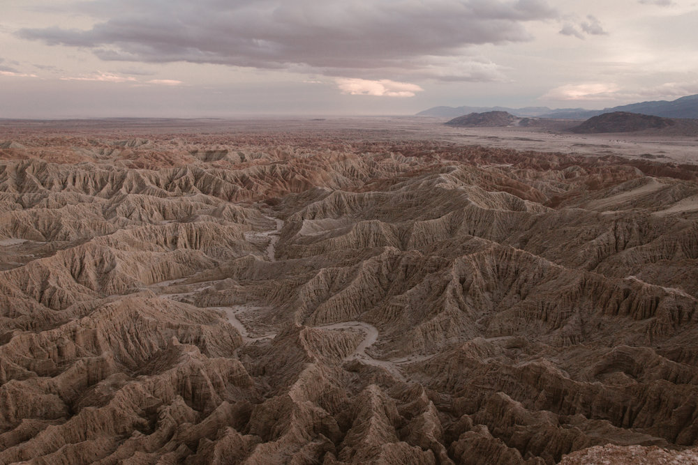 Font's Point in Anza Borrego by San Diego photographer Paige Nelson