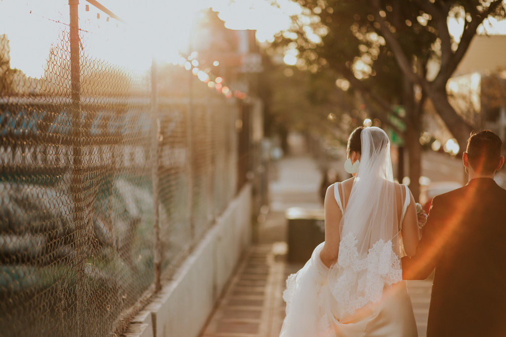 Downtown Gaslamp wedding by San Diego photographer Paige Nelson