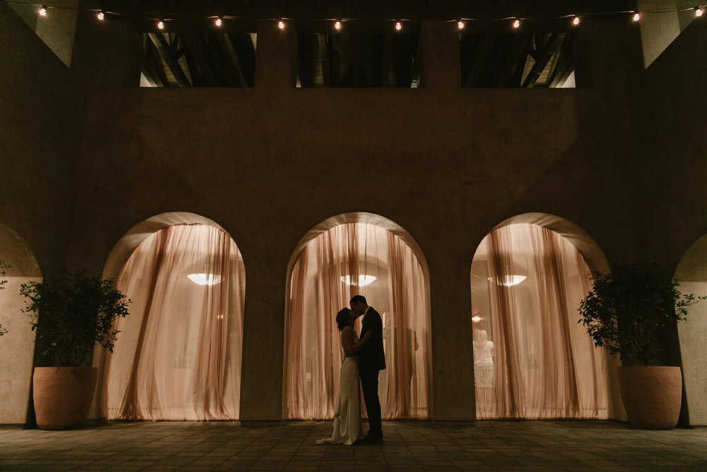 Serra Plaza wedding in San Juan Capistrano by San Diego photographer Paige Nelson