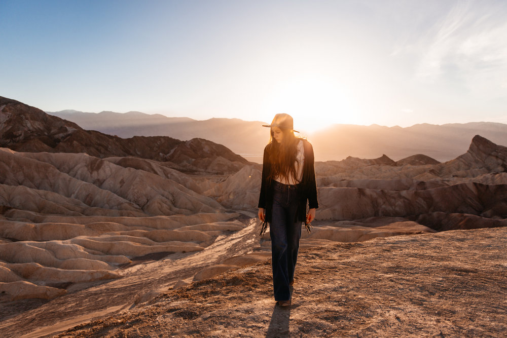 The Little Miss in Death Valley by San Diego photographer Paige Nelson