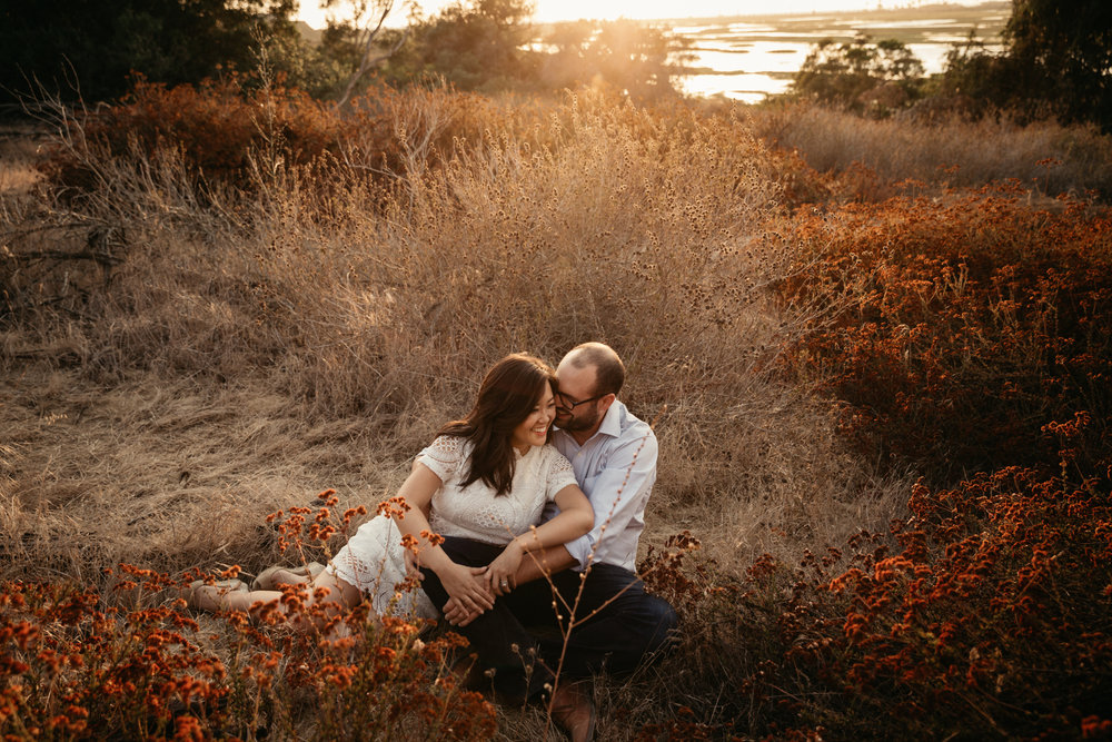 San Elijo Lagoon engagement by San Diego photographer Paige Nelson