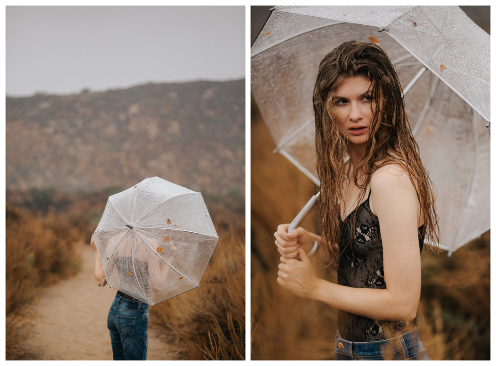 Portraits of Becka Palter at Mission Trails by San Diego photographer Paige Nelson