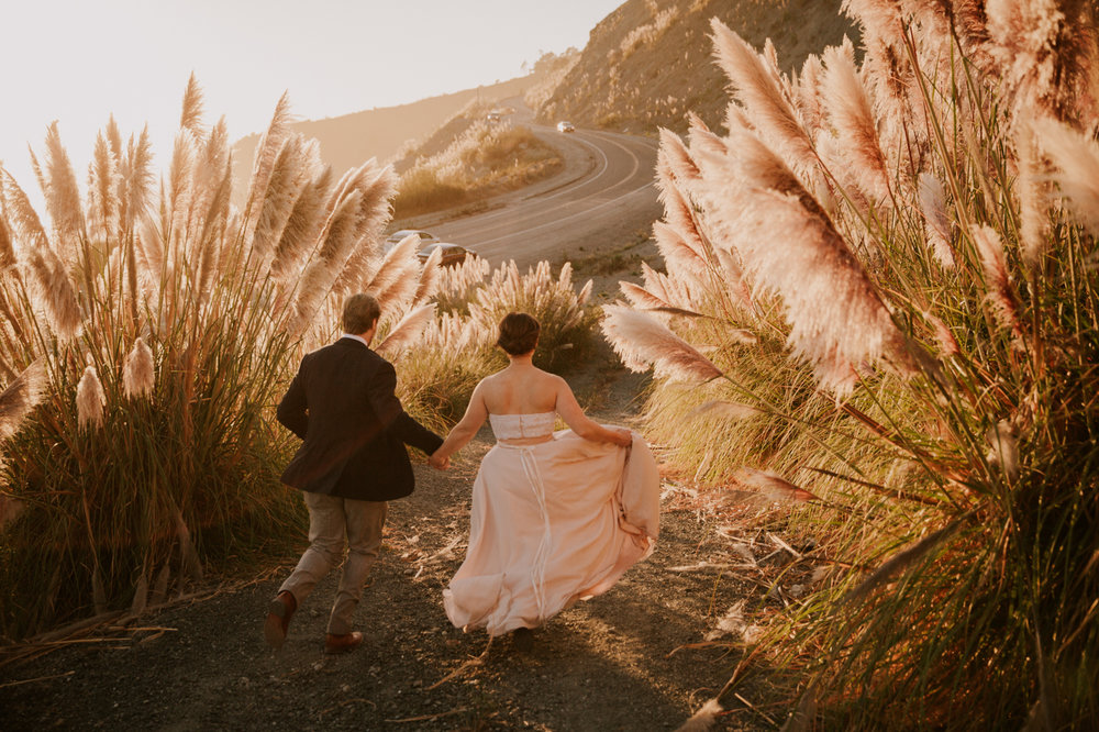 Intimate Big sur wedding by San Diego photographer Paige Nelson
