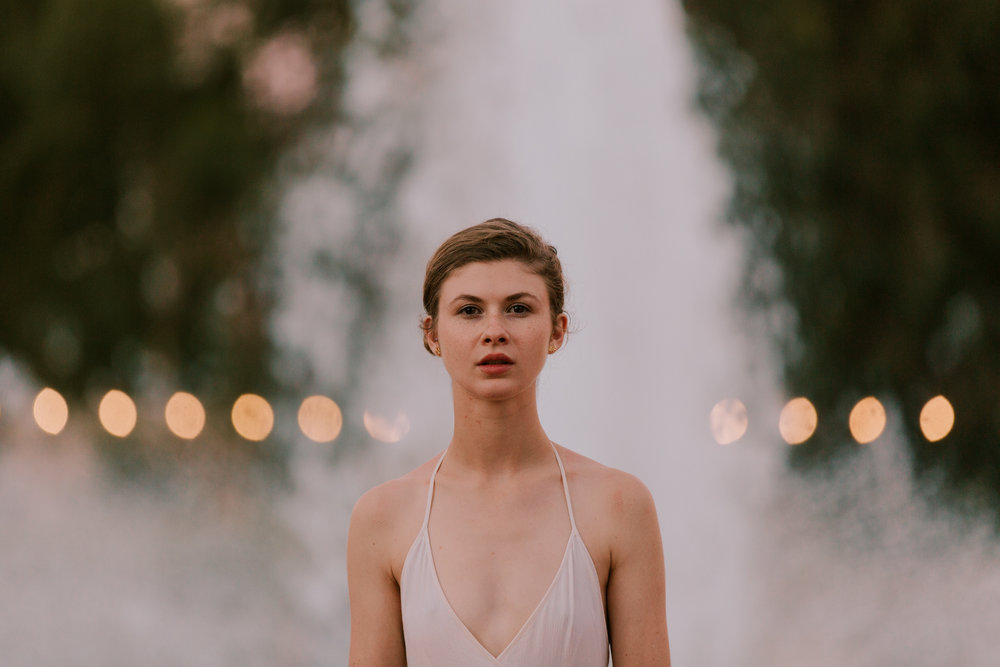 Portraits of Becka Palter at Balboa Park by San Diego photographer Paige Nelson