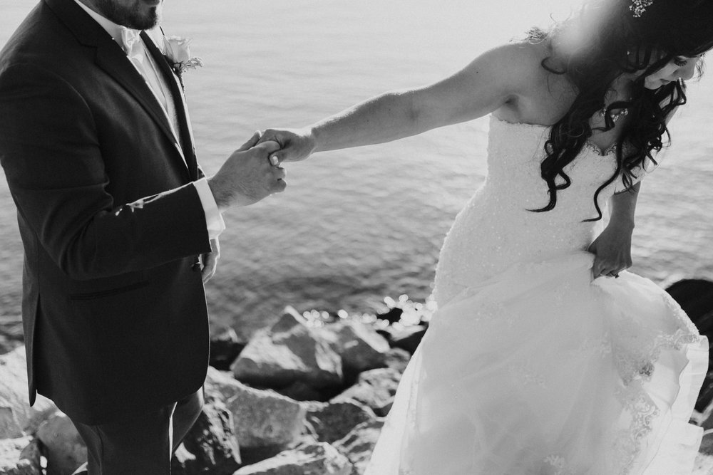 San Diego wedding in Point Loma by San Diego photographer Paige Nelson