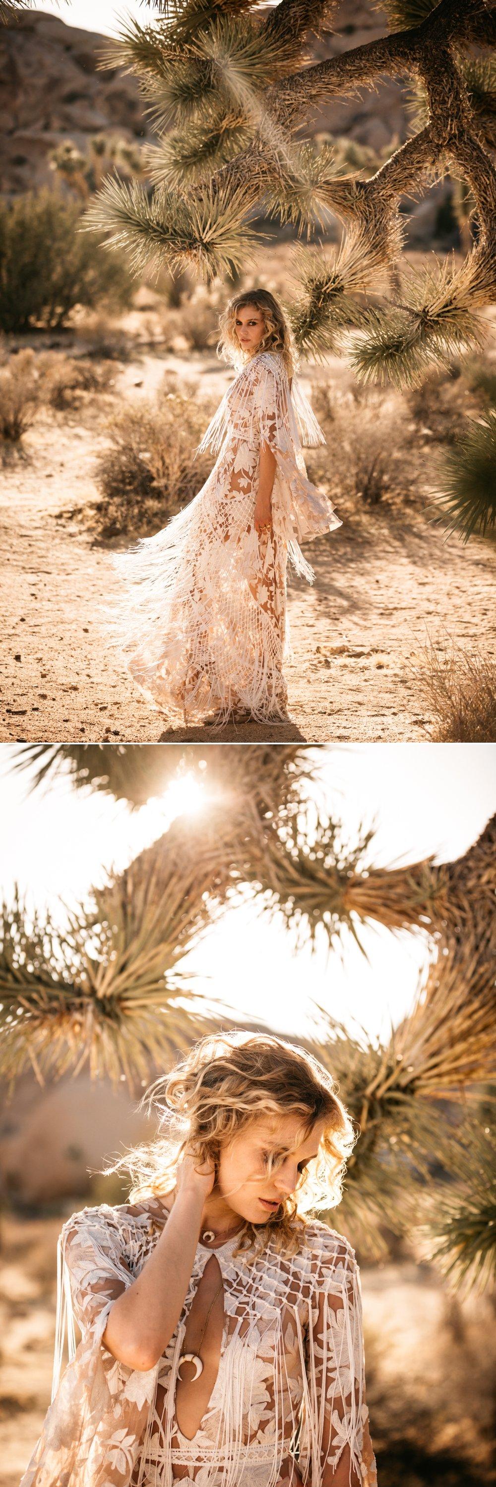 Rue de Seine Love Spell Collection Dakota Gown, Joshua Tree