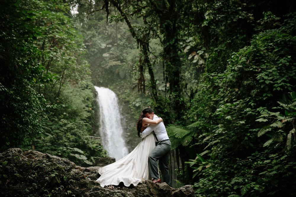 Intimate Costa Rica wedding at La Paz by San Diego photographer Paige Nelson
