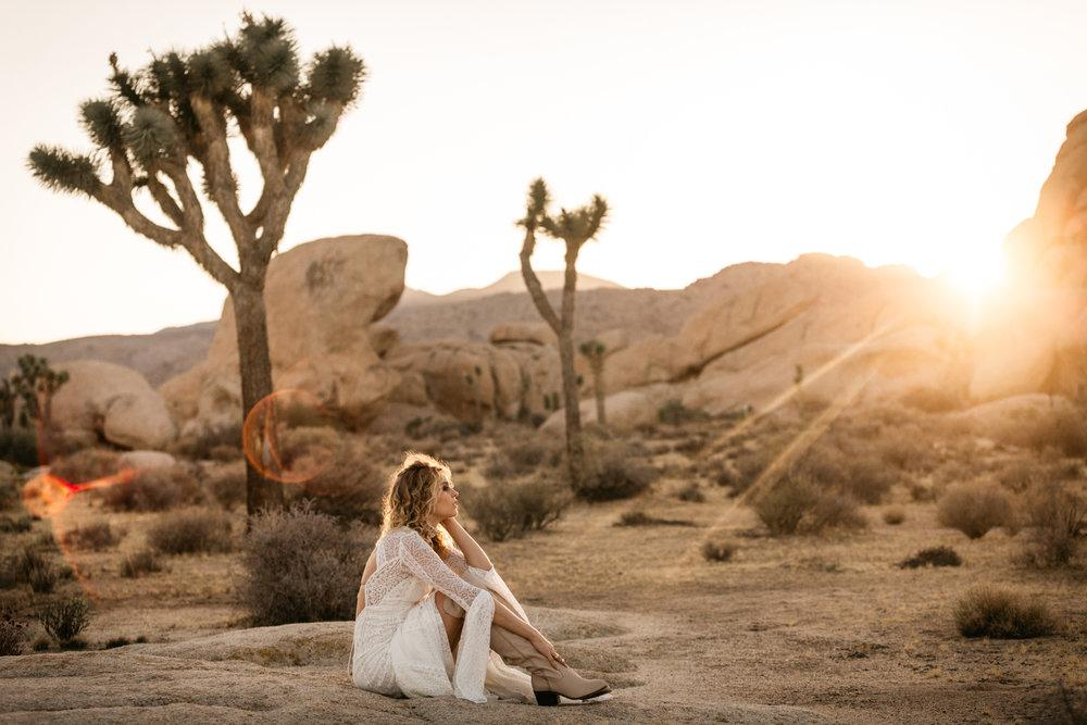 Rue de Seine Love spell at Joshua tree by San Diego photographer Paige Nelson