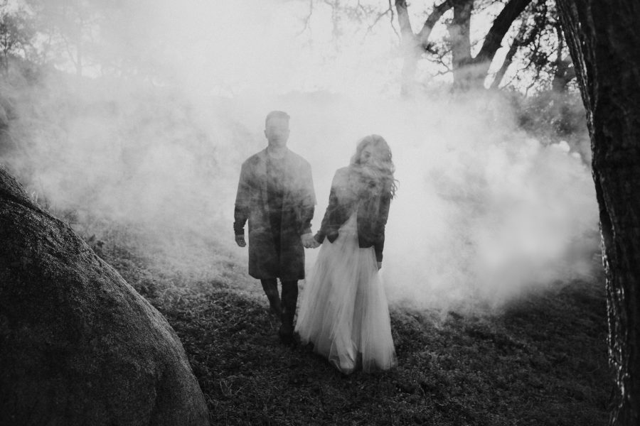 Smokebomb engagement in San Diego by Paige Nelson