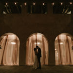 Wedding at Serra Plaza in San Juan Capistrano by Paige Nelson