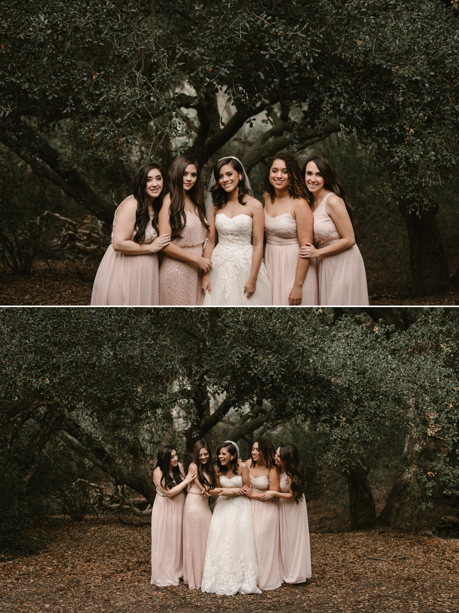 Bridesmaids formals at Oak Canyon Nature Center by Paige Nelson