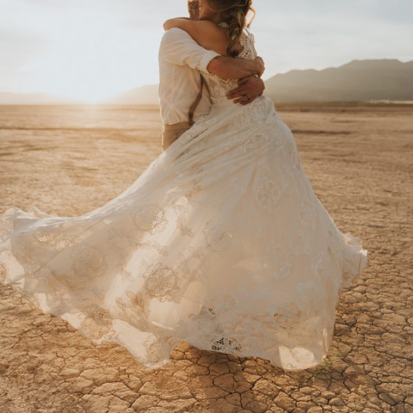 Red Rock Canyon Styled Elopement