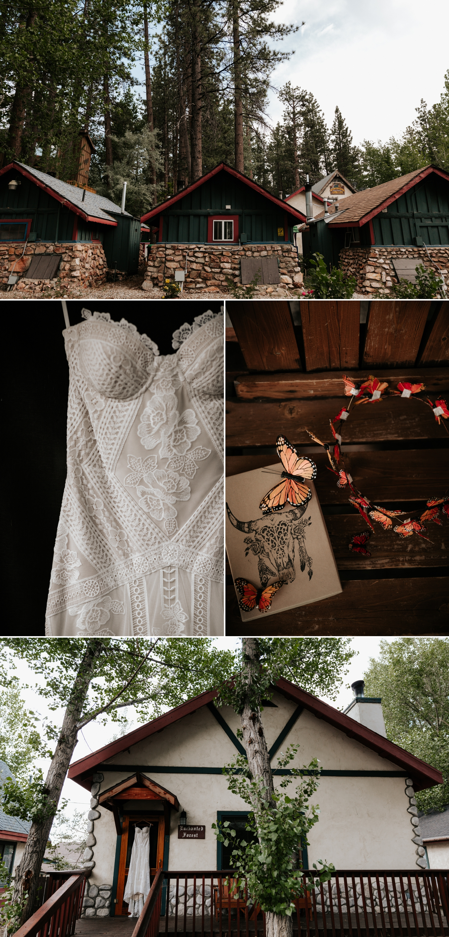 Rue de Seine Fox Gown for Bohemian Mountain Elopement