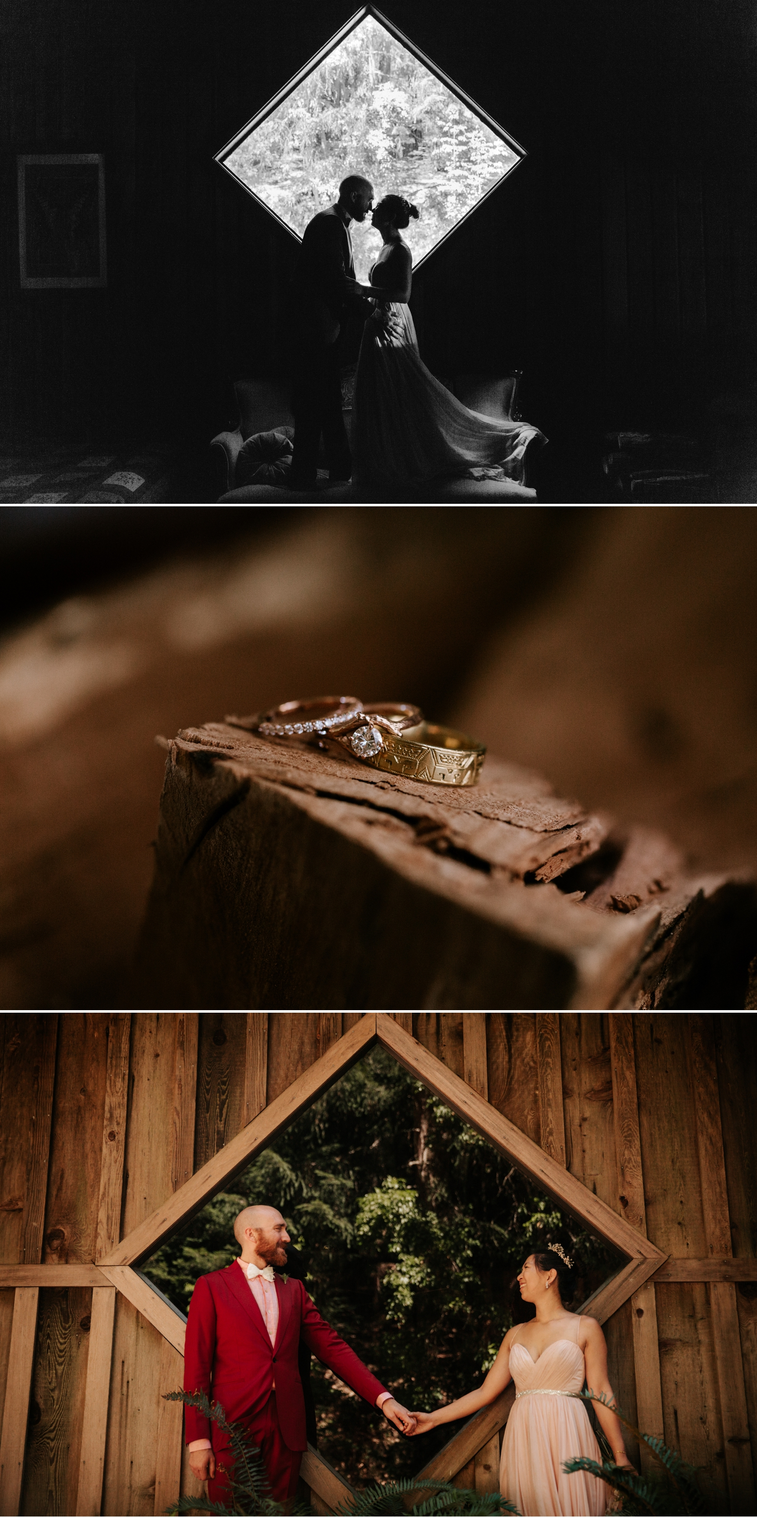 Summer camp wedding at Leonard Lake Reserve by Paige Nelson