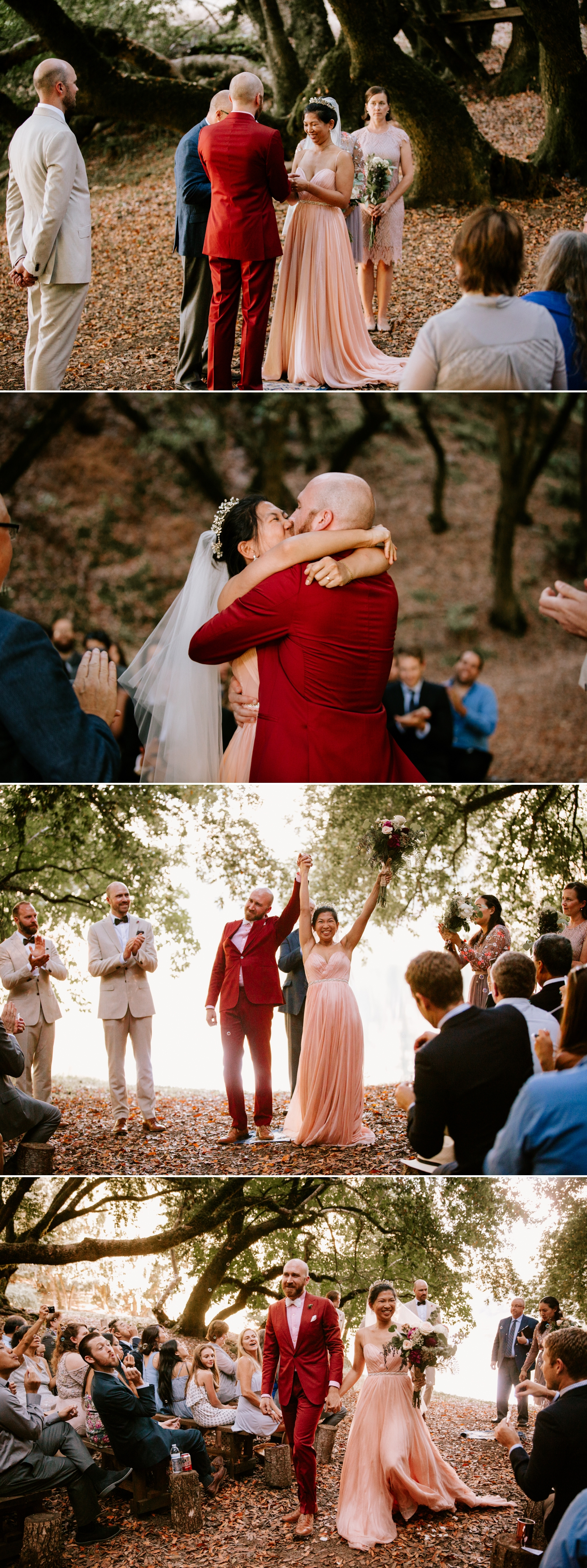 Summer Camp Wedding at Leonard Lake Reserve | Jem & Peter
