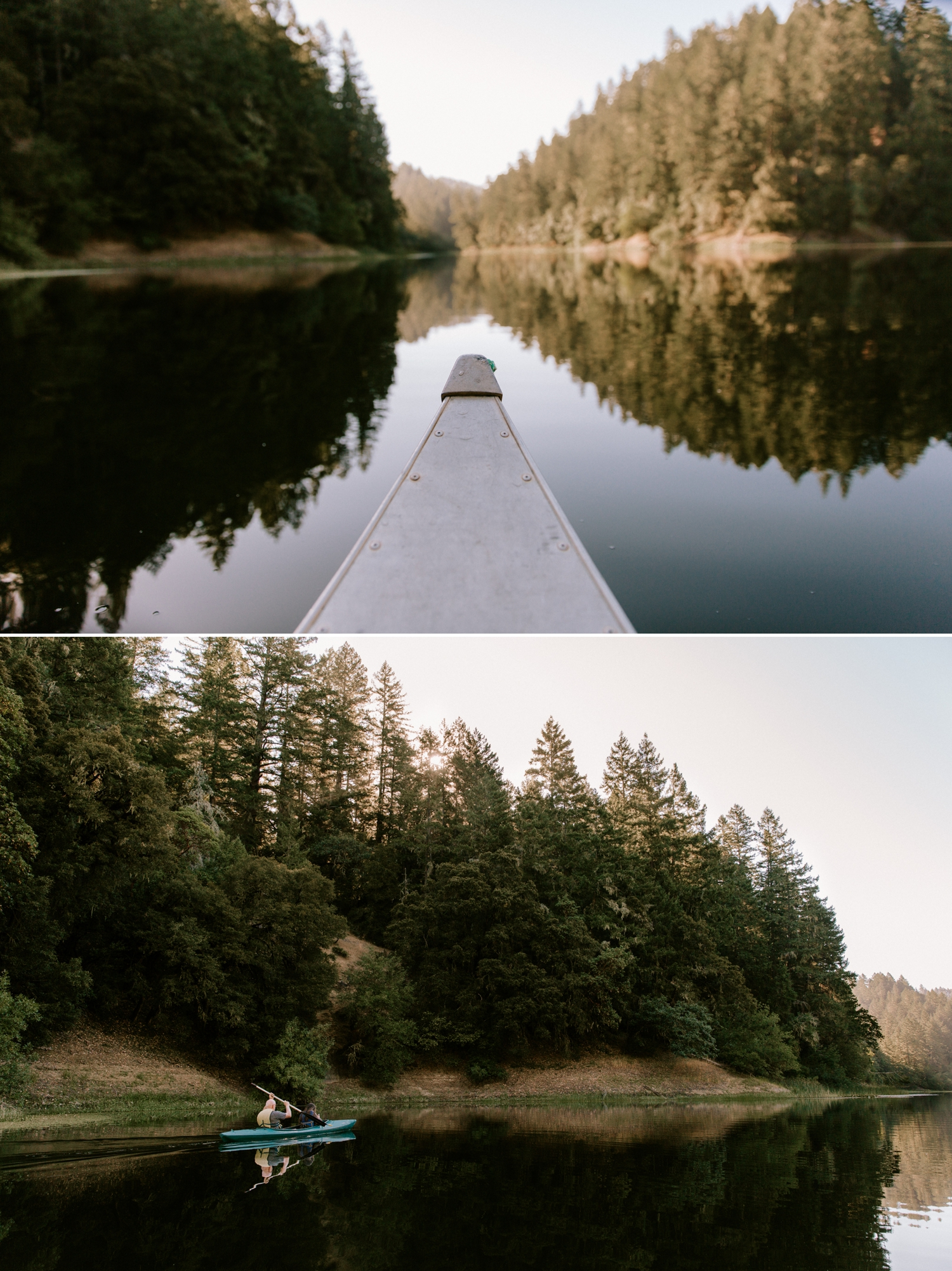 Leonard Lake summer camp wedding in Northern California by Paige Nelson
