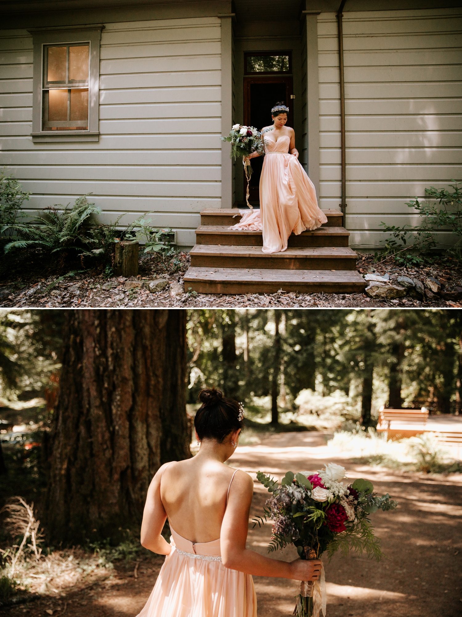 Redwood wedding in Northern California by Paige Nelson