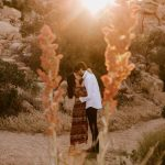 Olivia and Ricky desert engagement in joshua tree by San Diego photographer Paige Nelson