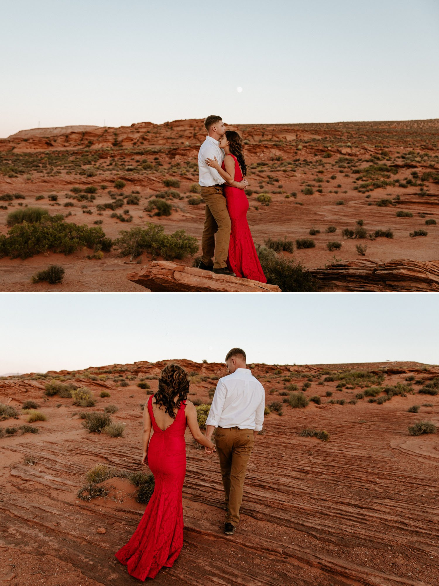 Horseshoe Bend Engagement by Paige Nelson Photography