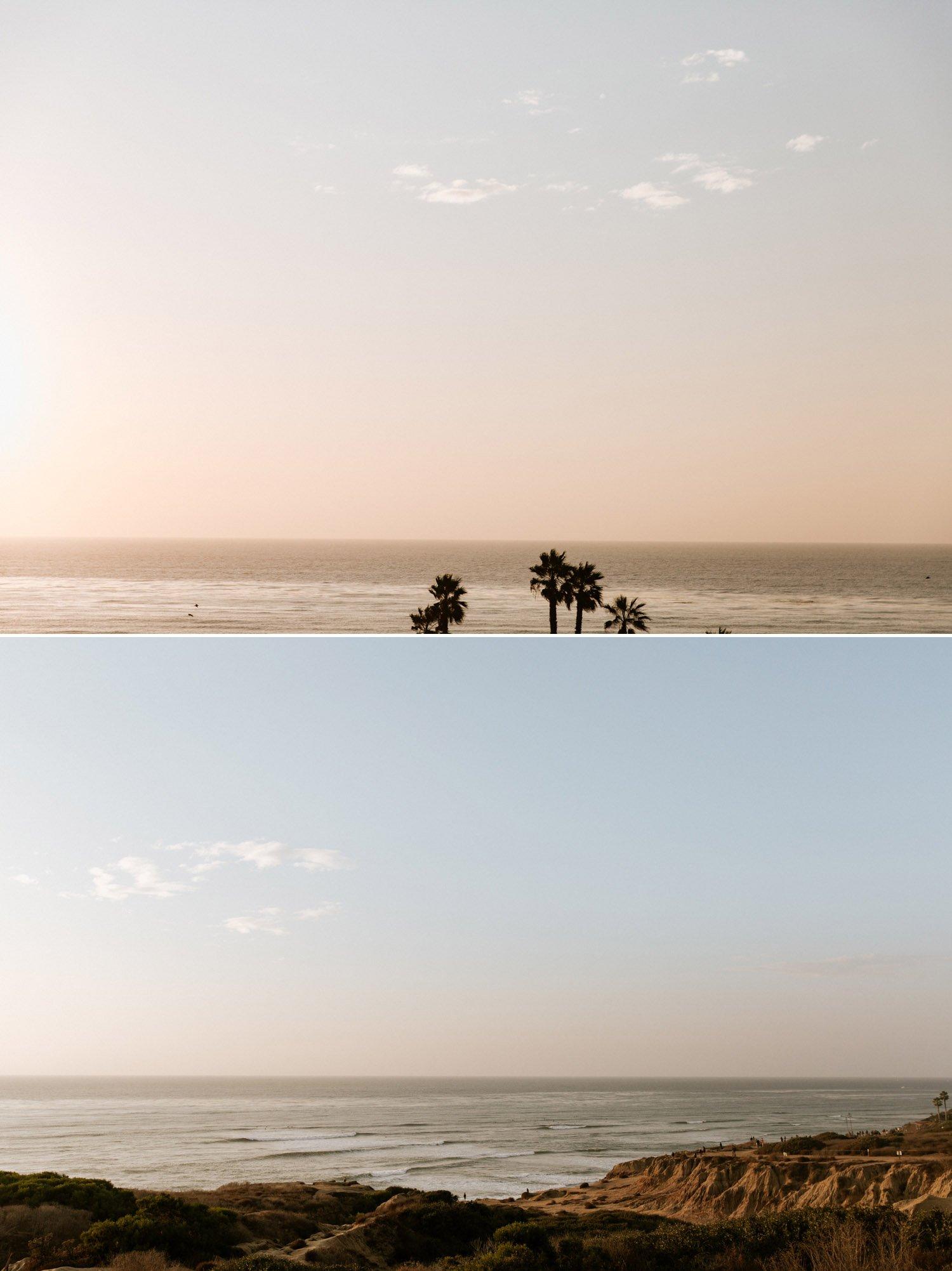 Sunset Cliffs in San Diego