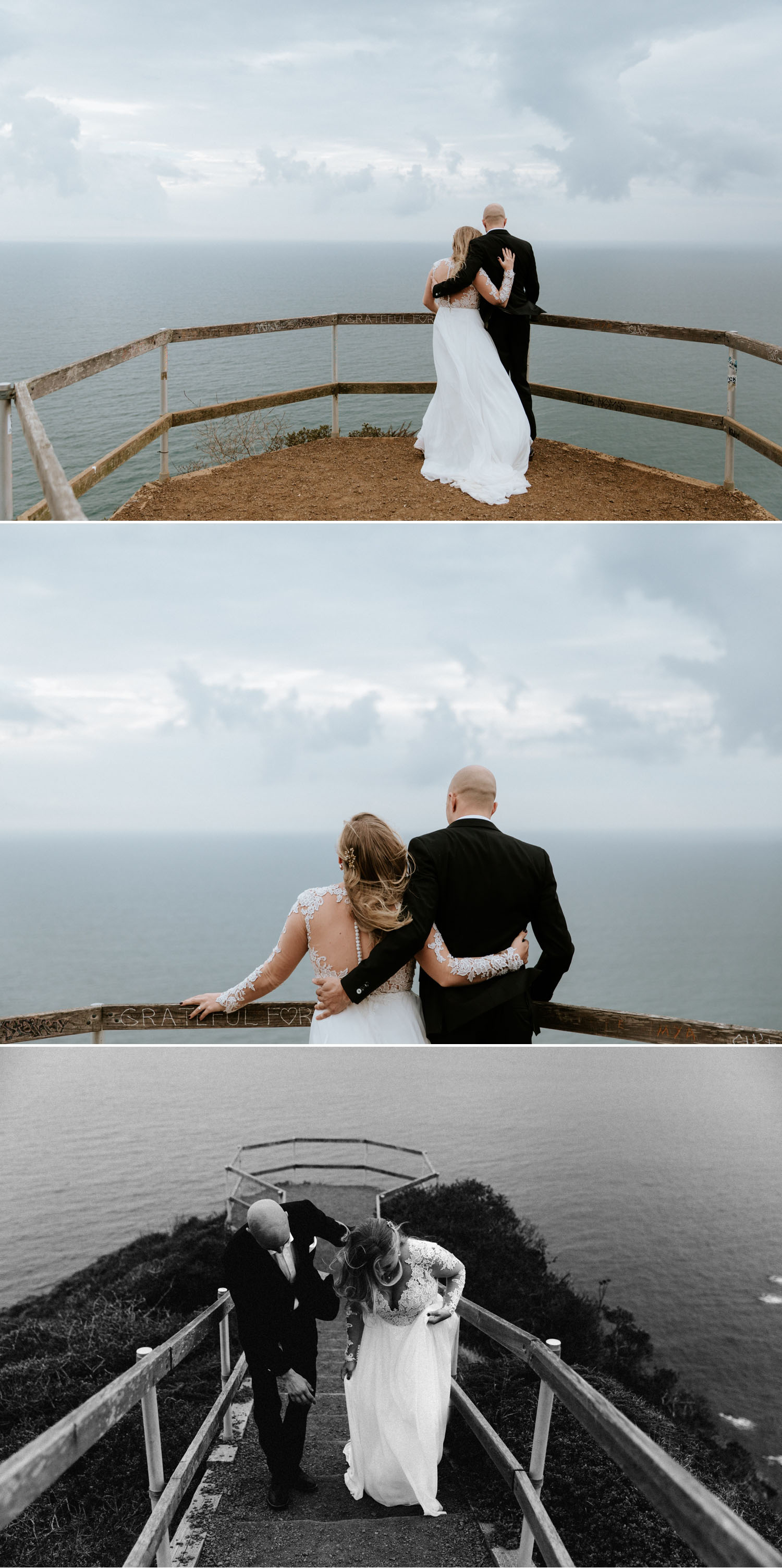 Muir Beach Overlook Elopement in San Francisco