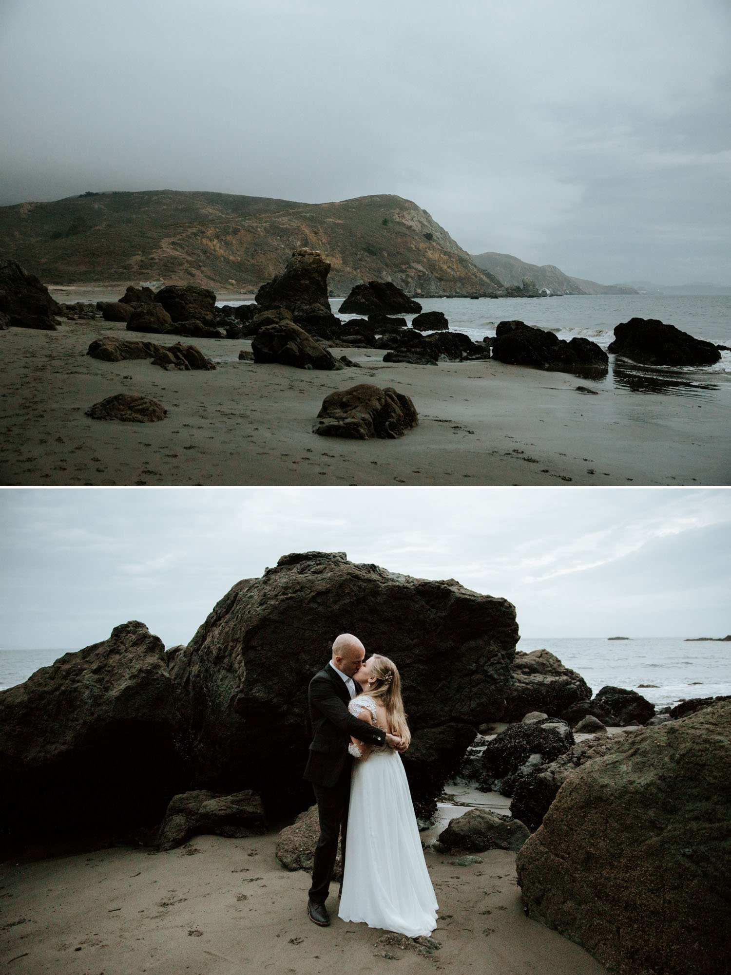 San Francisco Elopement at Muir Beach by Paige Nelson