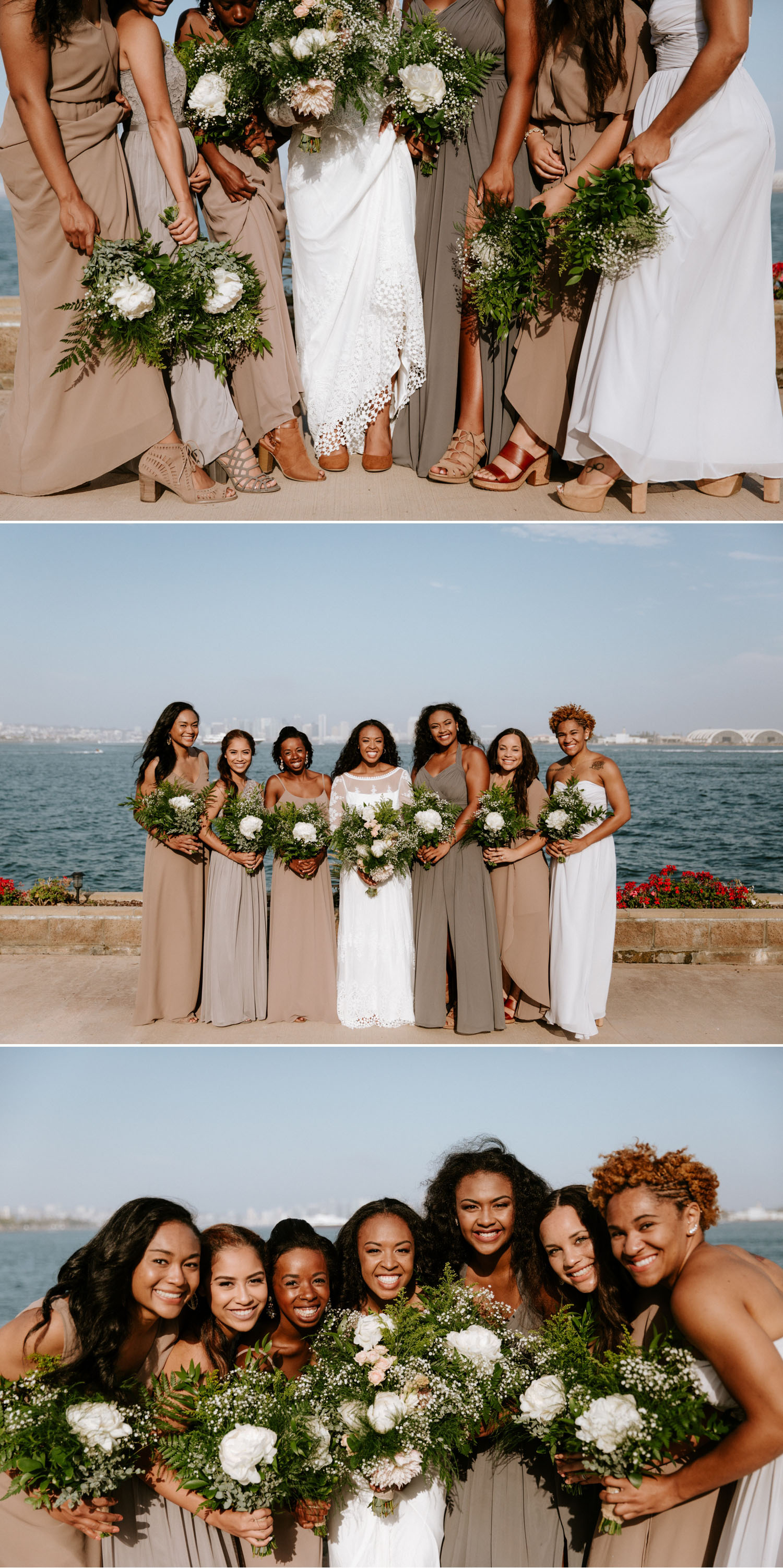 Hawaiian inspired Point Loma wedding in San Diego