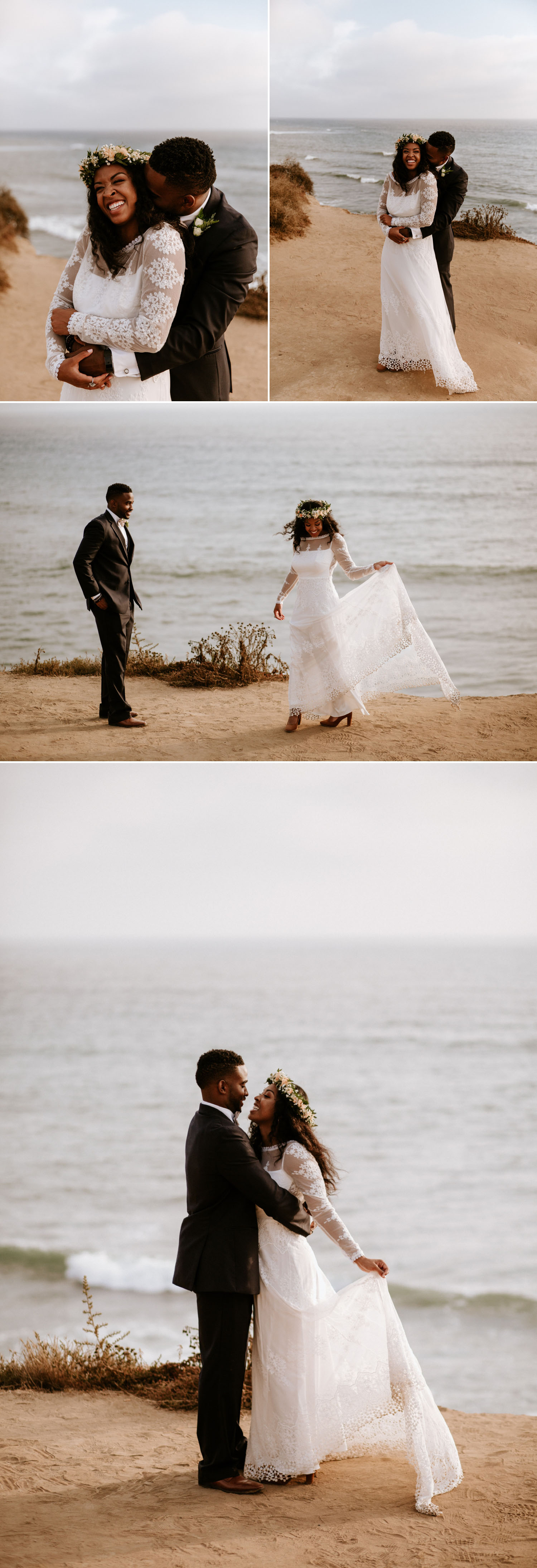 Bohemian Hawaiian-Inspired Point Loma Wedding | Paige Nelson