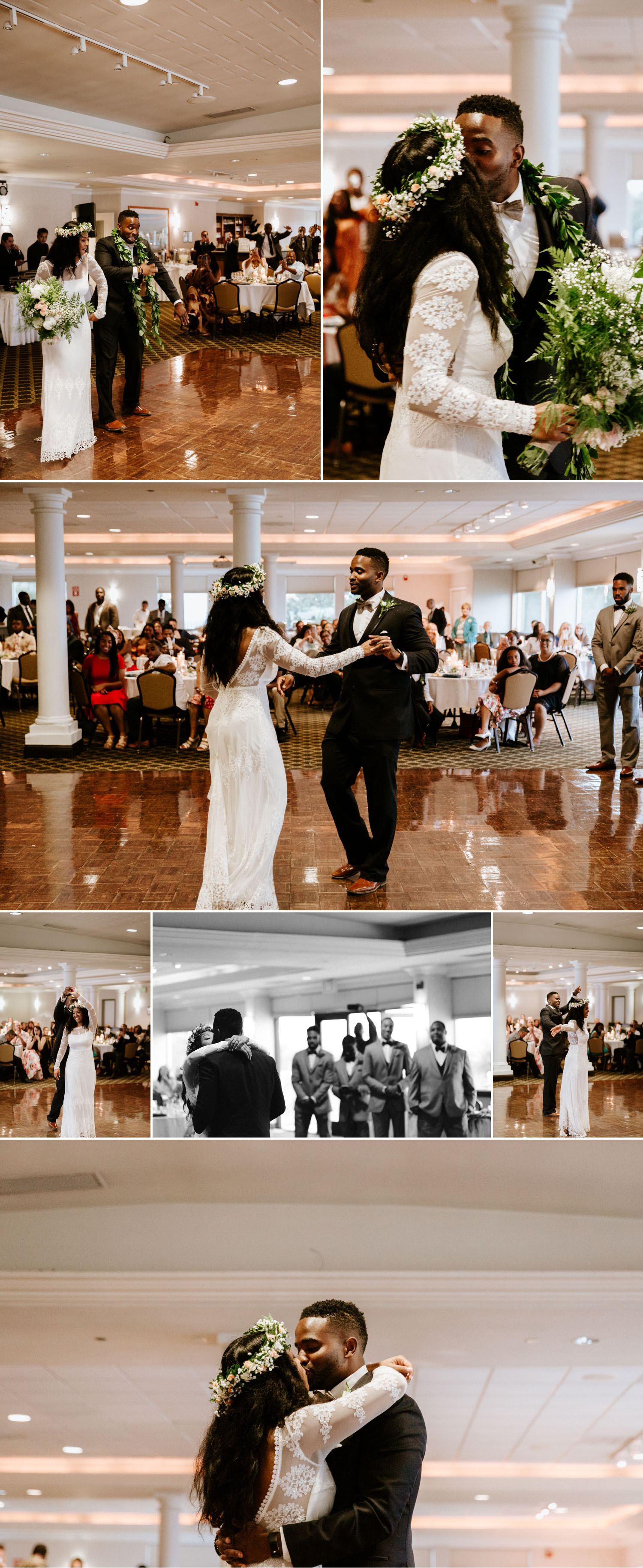 First dances San Diego harbor wedding