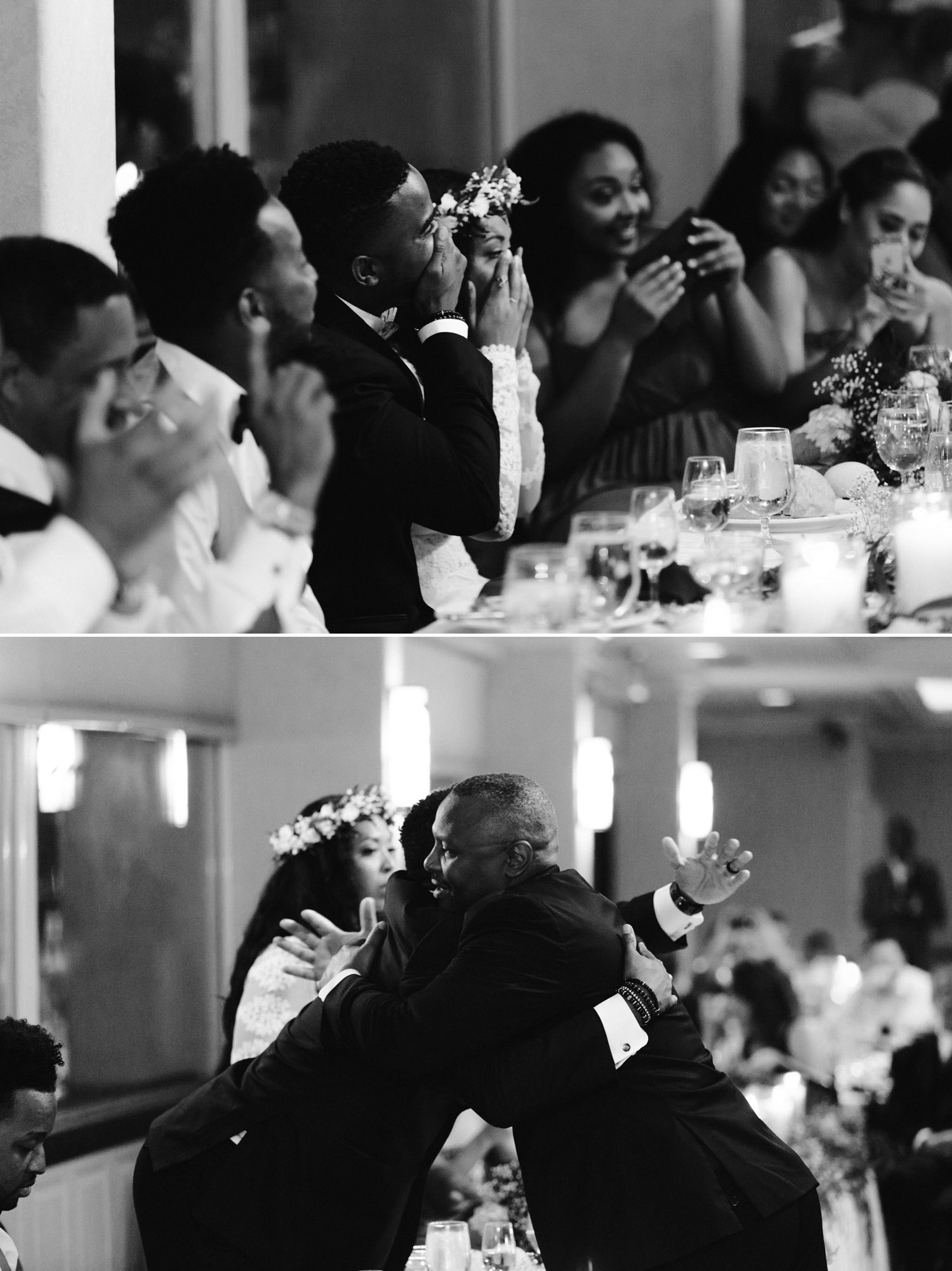 Wedding reception toast inspiration San Diego
