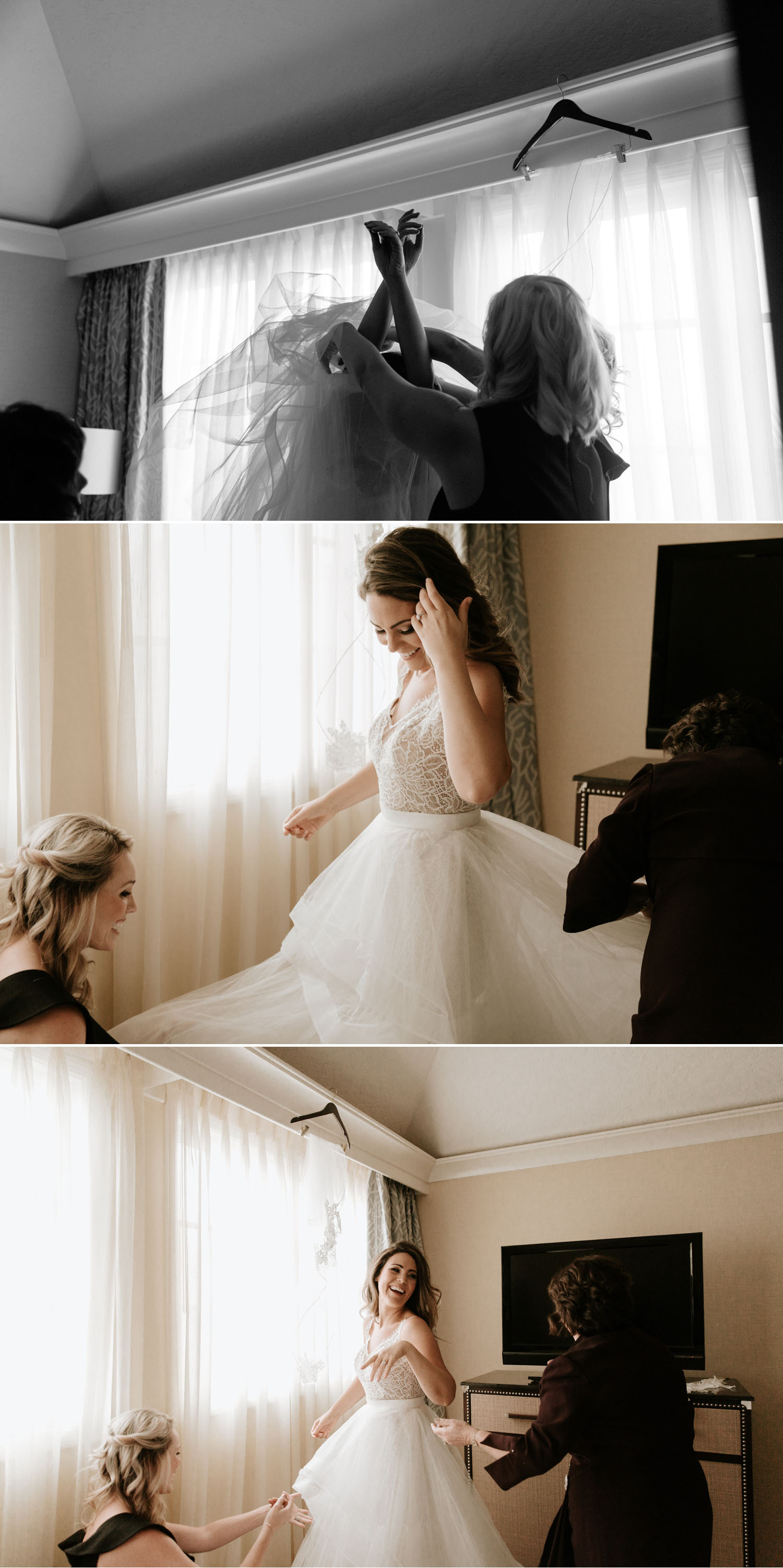 Hayley Paige wedding dress inspiration by Paige Nelson Photography